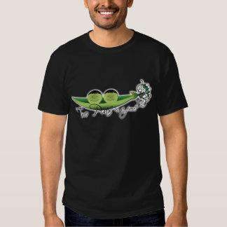 Two Peas In A Pod   boy twins T Shirt
