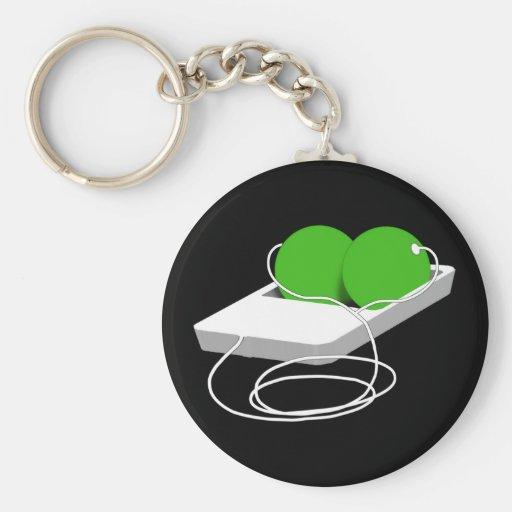 Two Peas in a Pod Keychains