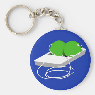 Two Peas in a Pod Key Chain