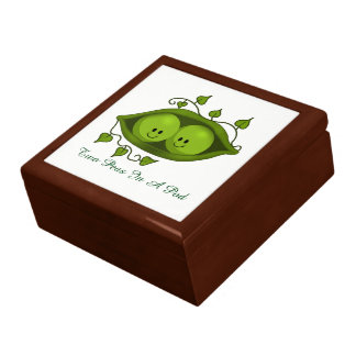 Two Peas In A Pod Large Square Gift Box