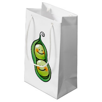 Two peas in a pod small gift bag