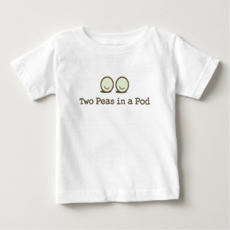 Two Peas in a Pod -Twins Baby T-Shirt