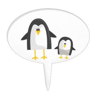Two Penguins Cake Topper