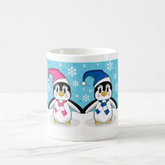 Two Penguins Coffee Mug