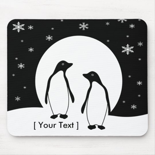 Two Penguins  Mousepad