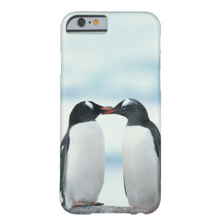 Two Penguins touching beaks Barely There iPhone 6 Case