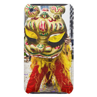 Two people in Chinese dragon costume, Qingdao, iPod Touch Case-Mate Case