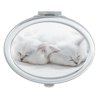 Two Persian Kittens Travel Mirrors
