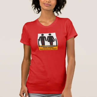 Two Persons by Step Sign, Brazil T Shirt