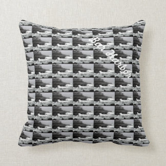 Two photo pillow