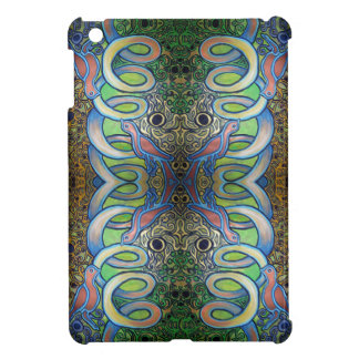 two pink birds on a spiral i-pad mini case cover for the iPad mini