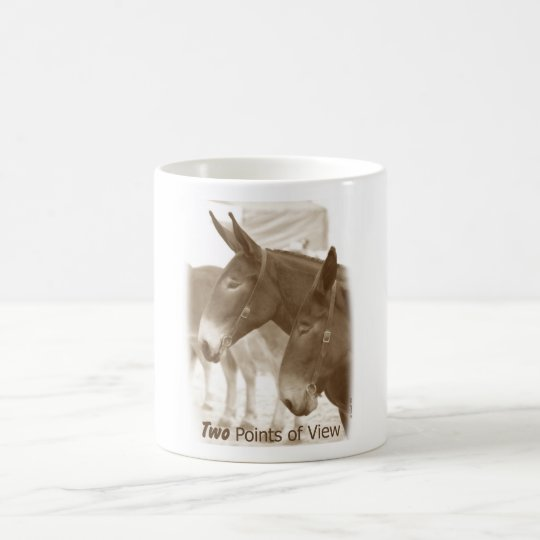 Two Points of View Coffee Mug