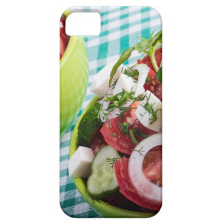 Two portions of useful vegetarian meal closeup iPhone 5 case
