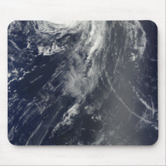 Two powerful storms span the Atlantic Ocean Mouse Mat