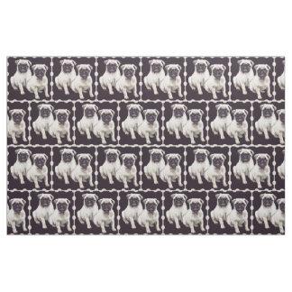 Two Pugs fabric