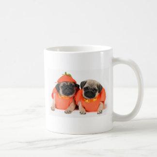 Two Pugs Coffee Mugs