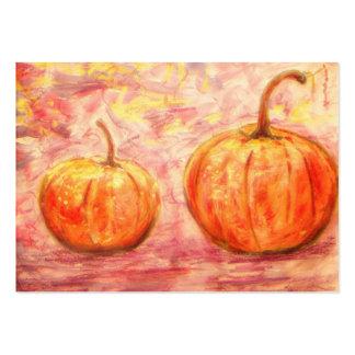 two pumpkins business card