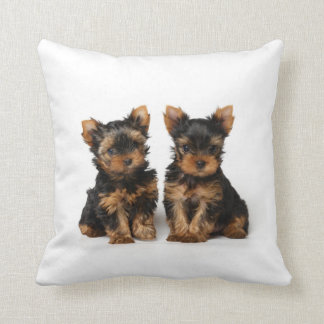 Two puppies cushion