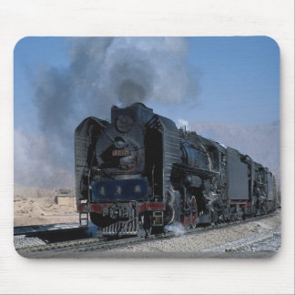 Two QJ's on freight to Hexipu, northwest China Mousepads