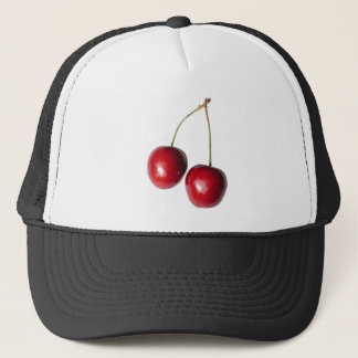 two real cherries trucker hat
