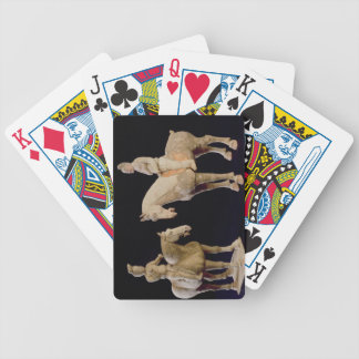 Two Riders, Chinese, Tang dynasty (618-906) (terra Bicycle Playing Cards