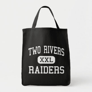 Two Rivers - Raiders - High - Two Rivers Wisconsin Grocery Tote Bag
