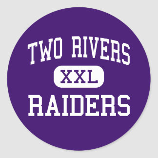 Two Rivers - Raiders - High - Two Rivers Wisconsin Stickers