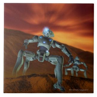 Two Robots Tile