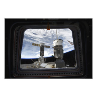 Two Russian spacecraft Art Photo