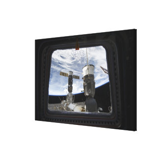 Two Russian spacecraft Canvas Print