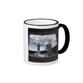 Two Russian spacecraft Ringer Coffee Mug