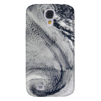 Two S-Shaped Polar Hurricanes Galaxy S4 Case