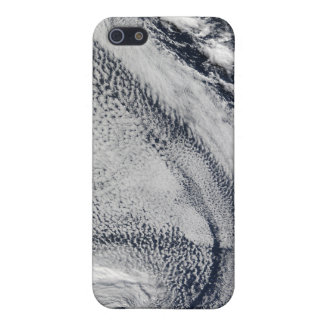 Two S-Shaped Polar Hurricanes iPhone 5/5S Cases