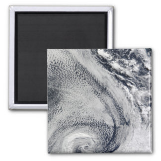 Two S-Shaped Polar Hurricanes Magnet