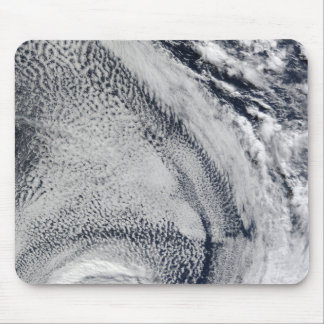 Two S-Shaped Polar Hurricanes Mouse Mat