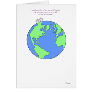 TWO SANE CREATURES Boynton Greeting Card