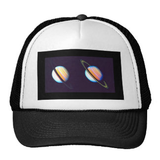 Two Saturn Planets Trucker Hat