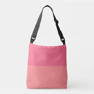 Two Shaded Pink Grapefruit Crossbody Bag
