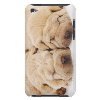 Two Shar Pei puppies sleeping iPod Case-Mate Case