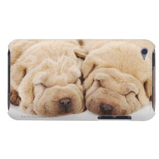 Two Shar Pei puppies sleeping iPod Touch Cases
