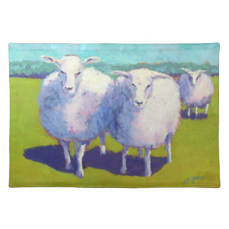 Two Sheep In Field Placemat