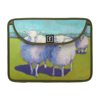 Two Sheep In Field Sleeve For MacBooks