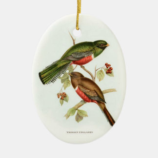 Two sided Beautiful Birds ornament