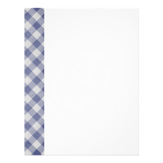 Two-Sided Gingham Paper Full Color Flyer