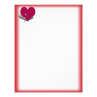 Two Sided Un-Valentine Stationery 21.5 Cm X 28 Cm Flyer