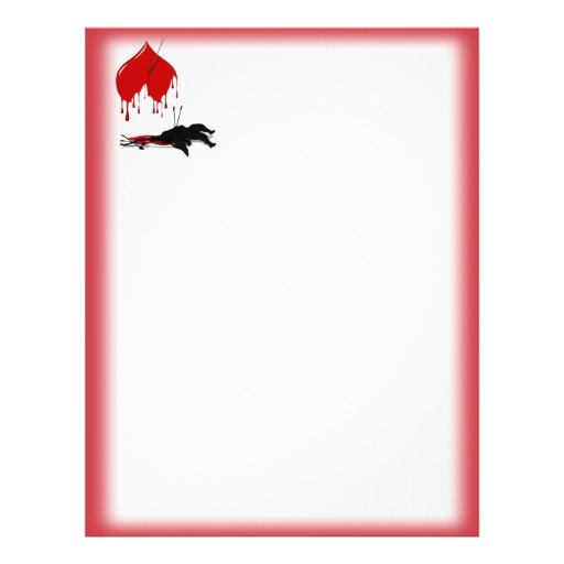 Two Sided Un-Valentine Stationery Personalized Flyer