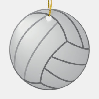 Two sided Volleyball Ornament