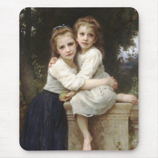 Two Sisters Mouse Pad