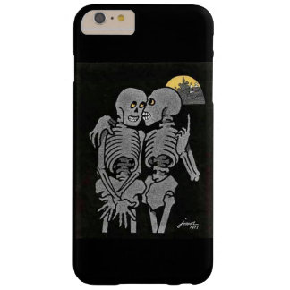 Two Skeletons Talking Barely There iPhone 6 Plus Case