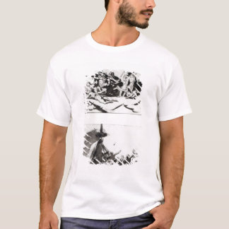 Two sketches for The Raft of the Medusa, c.1819 T-Shirt